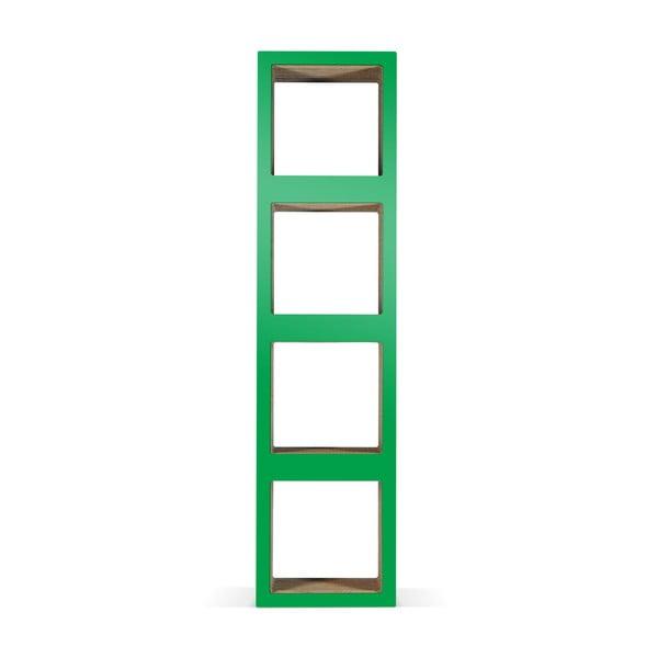 Kartónová knižnica Bit Quattro Green