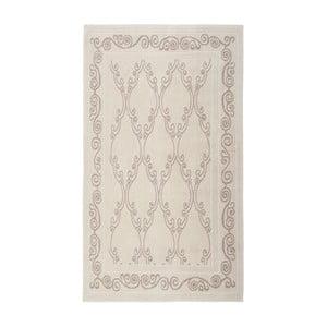 Krémový bavlnený koberec Floorist Gina, 120x180cm