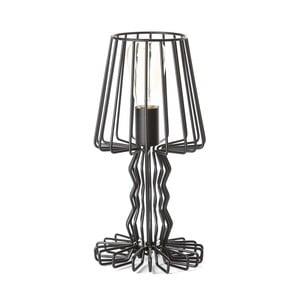 Čierna stolová lampa ETH Wire Mena