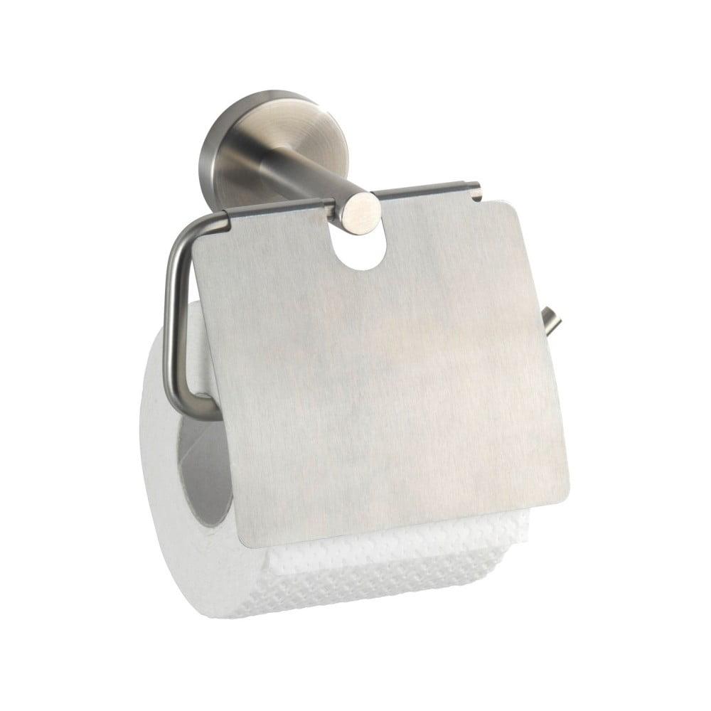Nástenný držiak na toaletný papier Wenko Bosio With Cover