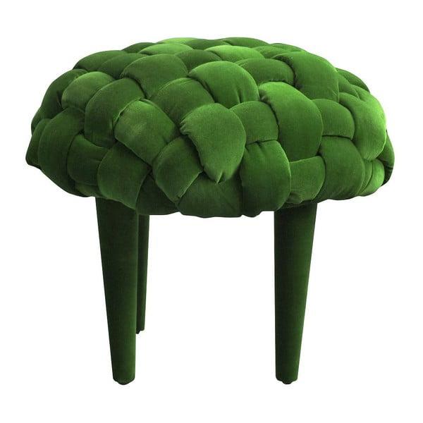 Taburetka Berry, zelená