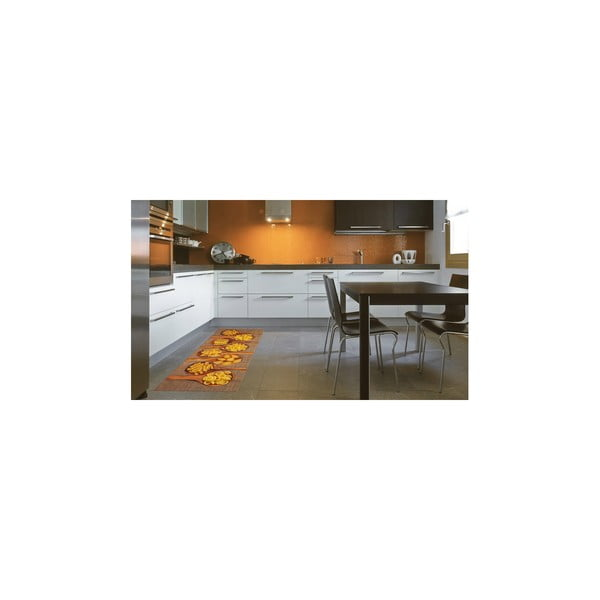 Vysokoodolný kuchynský koberec Pasta, 60x150 cm
