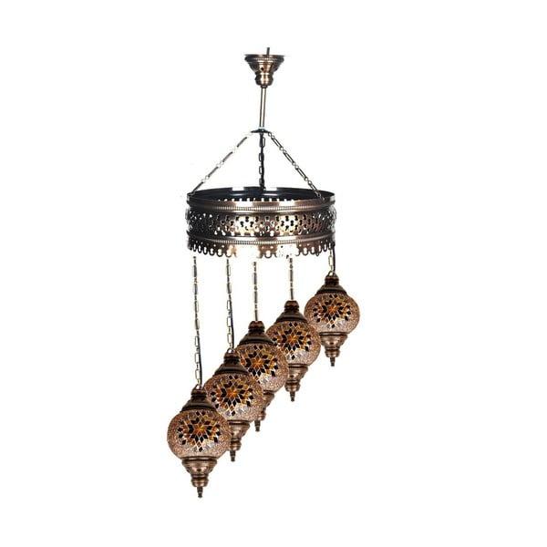 Sklenená lampa Fishing XVI