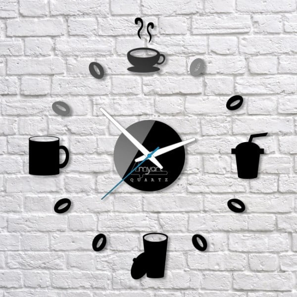 Nástenné hodiny Breakfast Drink