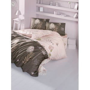 Obliečky s plachtou Hale Brown, 200x220 cm