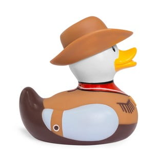 Kačička do vane Bud Ducks Cowboy