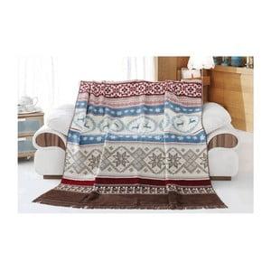 Bavlnená deka Aksu West, 220×180 cm