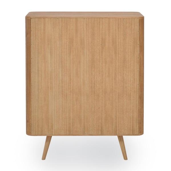 Komoda z dubového dreva Gazzda Ena One, 90 x 42 x 110 cm