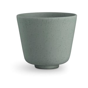 Zelený kameninový hrnček Kähler Design Ombria, 300 ml