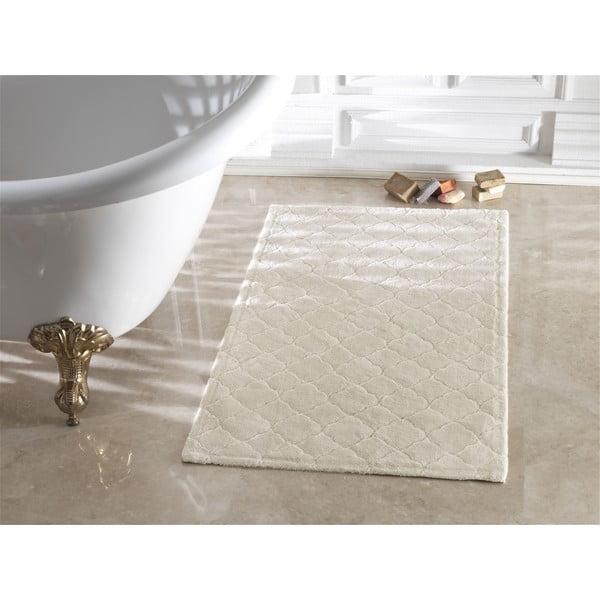 Béžová kúpeľňová predložka Confetti Bathmats Arven Beige, 40 x 60 cm
