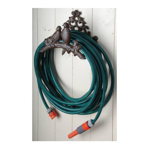Nástenný liatinový držiak na záhradnú hadicu Esschert Design