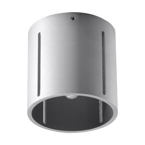 Sivé stropné svetlo Nice Lamps VULC