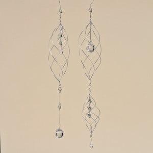 Sada 2 dekoratívnych závesných špirál Debby