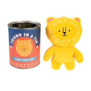 Detská plyšová hračka lev Larry v plechovke Rex London