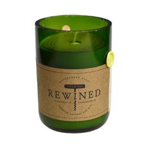 Sviečka Rewined Candles Chardonnay, 80 hodín