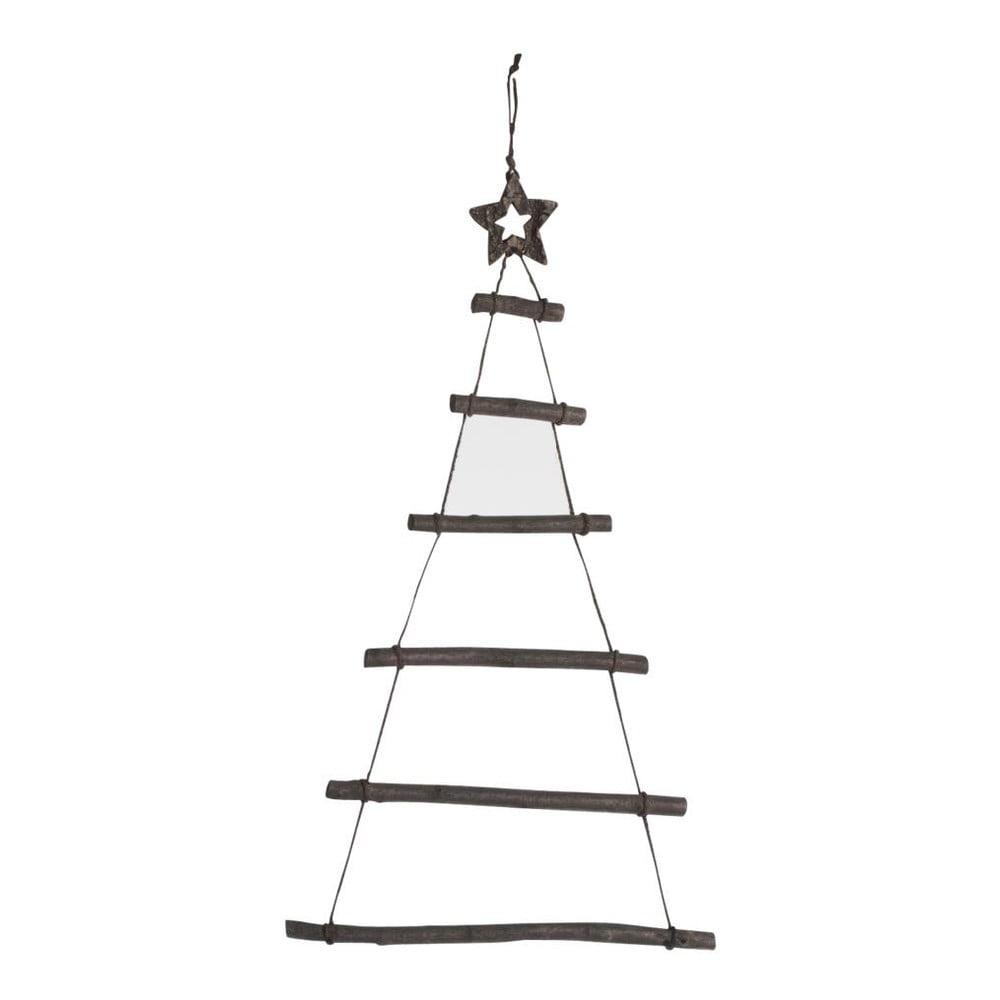 Drevená závesná vianočná dekorácia J-Line Tree