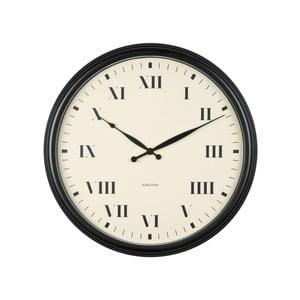 Čierne hodiny Present Time Old Times, veľké