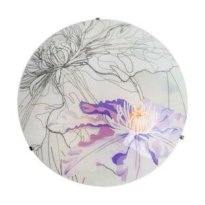 Nástenné svetlo Violet Spring Round, 30 cm
