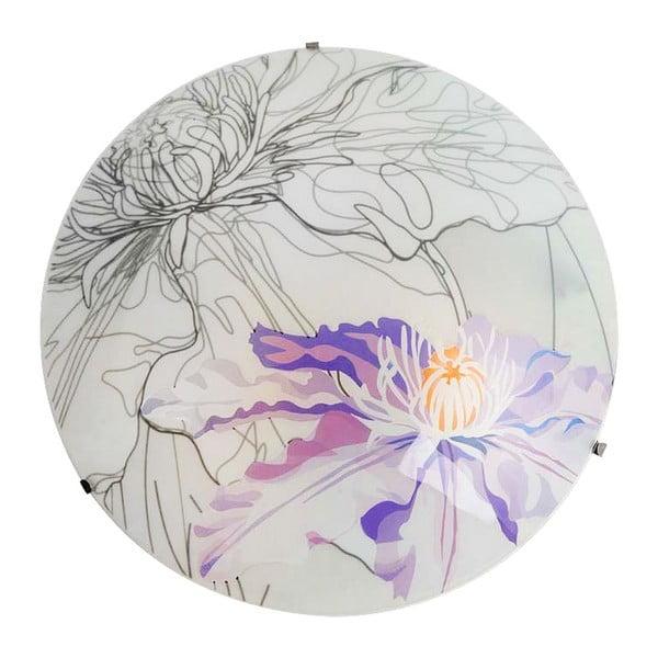 Nástenné svetlo Violet Spring Round, 40 cm