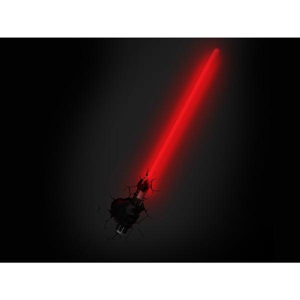 Nástenné svetlo s nálepkou Tnet Lase Darth Vader