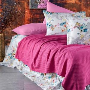 Sada posteľnej bielizne zo 100% bavlny Marie Lou Garden Rose