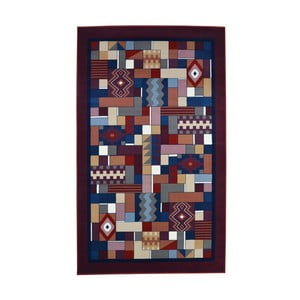 Koberec Webtappeti Rosso, 100 x 150 cm