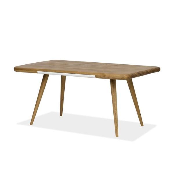 Jedálenský stôl z dubového dreva Gazzda Ena One, 140 x 100 x 75 cm