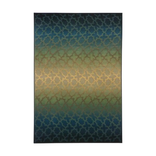 Koberec Duero, 133x195 cm, zelený