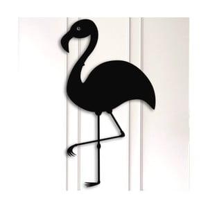 Kovová nástenná dekorácia Flamingo