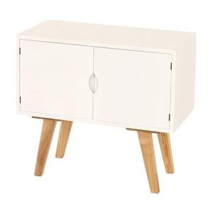 Menšia komoda Vaasa White, 60x55 cm