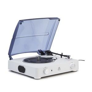 Biely gramofón GPO Stylo II Chalk White
