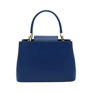 Tmavomodrá kabelka z pravej kože Andrea Cardone Milleo