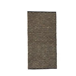 Koberec z morskej trávy a bavlny Simla ZigZag, 240 × 170 cm