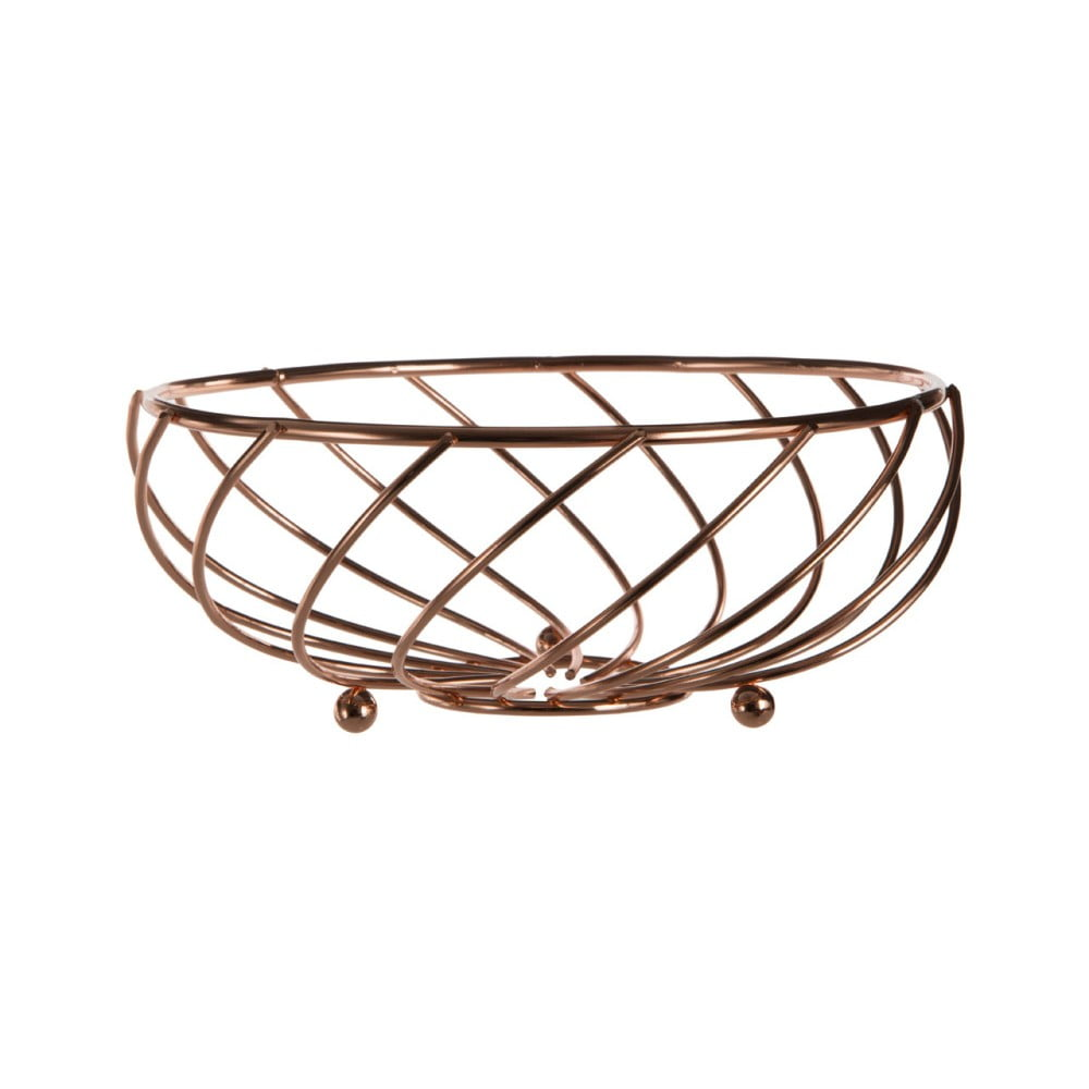 Kovový košík na ovocie Premier Housewares Kuper, ⌀ 21 cm