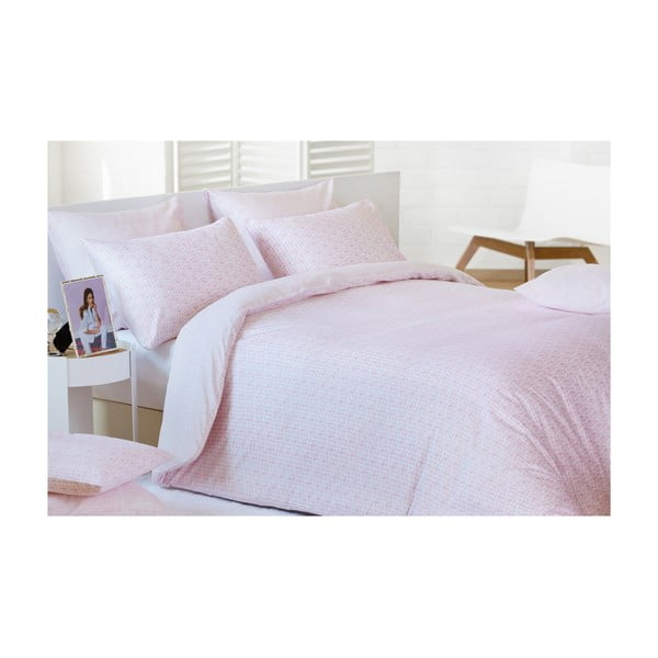 Obliečky Blocks Pink, 200x200 cm