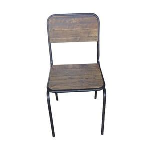 Kovová stolička Chaise Dossier