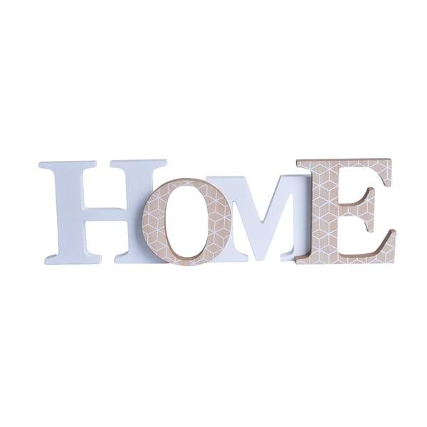 Dekoratívny nápis Domov