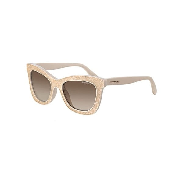 Slnečné okuliare Jimmy Choo Flash Nude Gold/Grey
