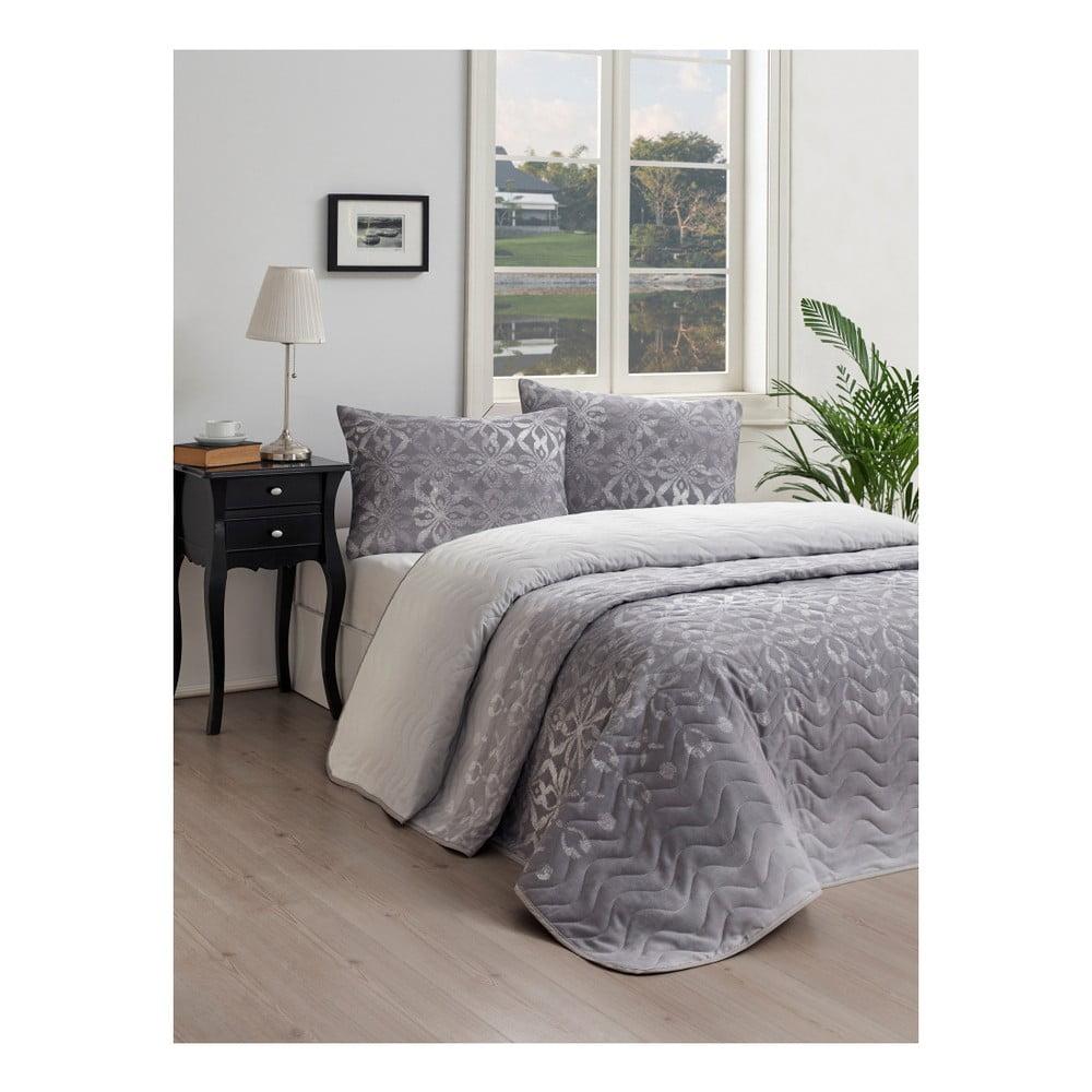 Set prikrývky cez posteľ a obliečky na vankúš Lura Cula, 160 × 220 cm