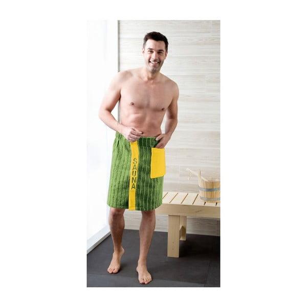 Pánsky sarong Green, 50x136 cm