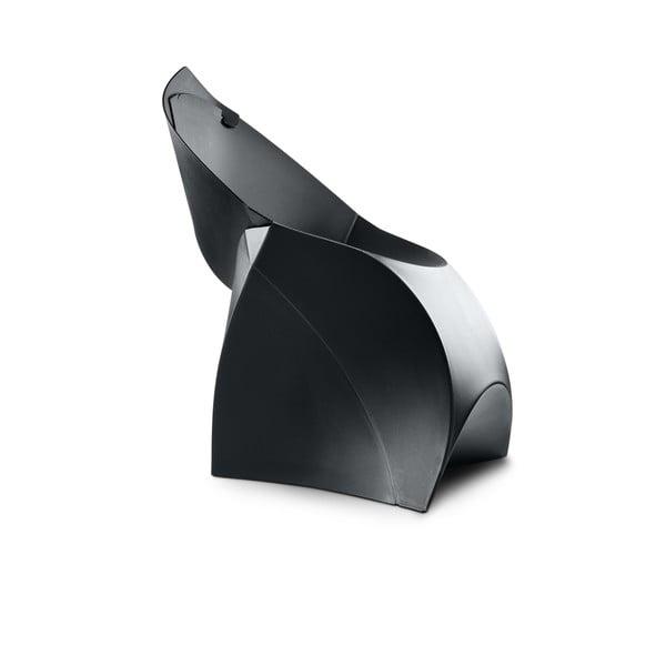 Čierna stolička Flux