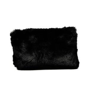Čierna listová kabelka Luisa Vannini Graffio