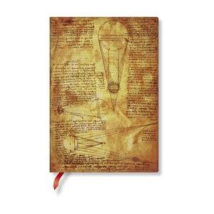 Zápisník s mäkkou väzbou Paperblanks Sun And Moonlight, 13 x 18 cm