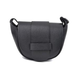 Čierna kožená kabelka Roberta M ríslušnej