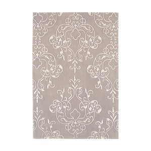 Sivý koberec Asiatic Carpets Harlequin Oldschool, 180 x 120 cm