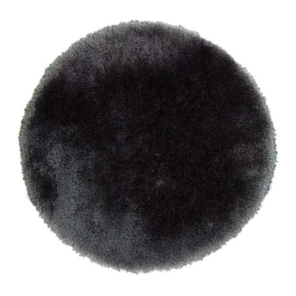 Koberec Pearl 150 cm, tmavosivý