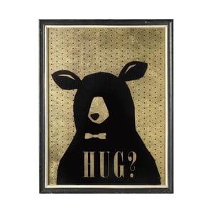 Obraz Teddy Hug, 83x47 cm