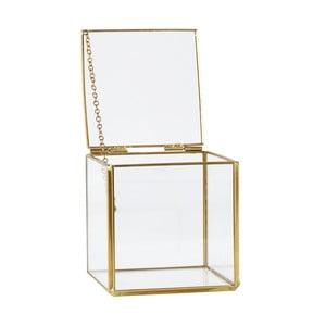 Úložný box KJ Collection Antique Brass, 10,3 cm