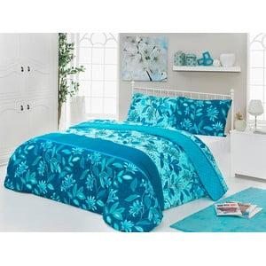 Sada obliečok a plachty Mathylda Blue, 200x220 cm