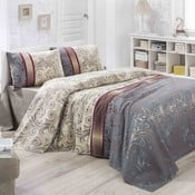 Bavlnený ľahký pléd cez posteľ Hurrem, 200 x 230 cm